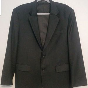 Mens black suit coat